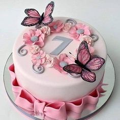 Very cute this butterfly cake ? by – – – – Very cute this butterfly cake ? by – – – – Very cute this butterfly cake ? by – – – – Very cute this butterfly cake ? Creative Birthday Cakes, 4th Birthday Cakes, Beautiful Birthday Cakes, Butterfly Birthday Cakes, Butterfly Cakes, Pretty Cakes, Cute Cakes, Fondant Cakes, Cupcake Cakes