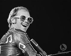 Elton John in youth