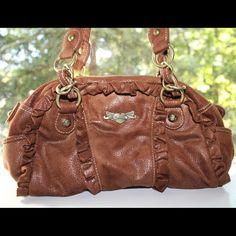 Kathy Van Zeeland hand bag ? Suede material! Never used. Straps 20.5 inches. Bag is 13 x 7.5 inches ??? Kathy Van Zeeland Bags