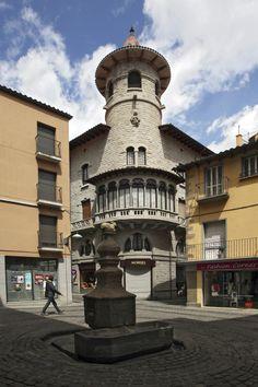 Casa Pujador. Olot  Garrotxa  Catalonia