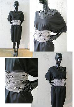 YKK by OutsaPop zipper belt