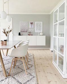 Scandinave home Inspi - Homeideas Living Room Colors, Home Living Room, Living Room Designs, Living Room Decor, Flat Interior, Interior Modern, Interior Design, Home Room Design, House Styles