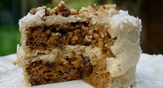 Carrot Cake with Pineapple Cream Cheese Frosting....I'm making this TODAY:)