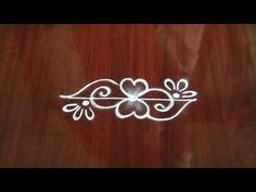 Rangoli Designs Simple Diwali, Simple Rangoli Border Designs, Rangoli Designs Latest, Rangoli Borders, Rangoli Designs Flower, Free Hand Rangoli Design, Rangoli Kolam Designs, Colorful Rangoli Designs, Kolam Rangoli