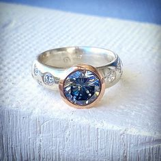 Moissanite is the most amazing created gemstone ,with the look, brilliance and near hardness of the world's BEST diamonds. It is the ethical and economic choice for modern times. You can learn