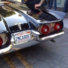 Elvira's car! ( seriously the hottest thing I've ever seen! )