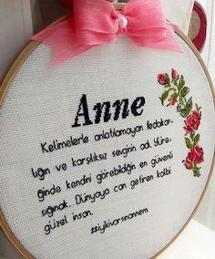 Anneler günü hediyesi (Örnek)