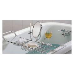 Taymor Ultimate Bathtub Caddy - Shower and Bath Caddies at Hayneedle