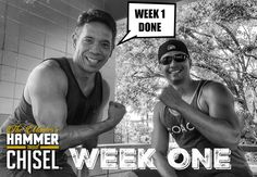 Hammer and Chisel Challenge Week One - Hammer and Chisel Workout Schedule - Hammer and Chisel at the Gym With optimal health often comes clarity of thought. Click now to visit my blog for your free fitness solutions!