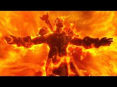 World of Warcraft Extinction (Sargeras Sword Impact Cinematic, End of Legion) by IKedit