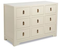 Brownstone Furniture | Regency Ivory Lacquer Accent Chest
