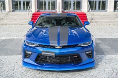 Fine-tuned American muscle cars like Chevrolet Camaro and Ford Mustang are pretty common in the US. Most likely, you will come across one supercharged Chevrolet Camaro, Camaro Car, Corvette, High Performance Cars, Rear Wheel Drive, Sport Cars, Concept Cars, Muscle Cars, Cool Cars
