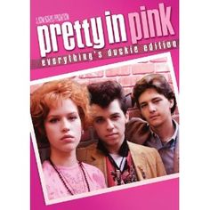 Pretty in Pink - Working-class misfit Andie thinks her dreams have come true when rich, popular Blane asks her to prom in this coming-of-age classic from John Hughes. Stars Molly Ringwald, Jon Cryer, James Spader and Andrew McCarthy. Pretty In Pink, Film Music Books, Music Tv, Pink Full Movie, John Cryer, Movies Showing, Movies And Tv Shows, Rosa T Shirt, Vintage Cartoons