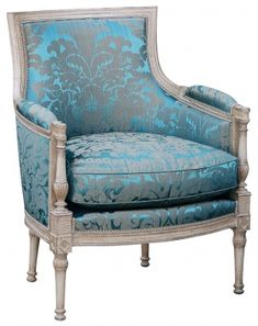 An elegant chair beautiful for my dressing room