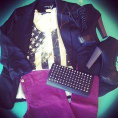 #OOTD #gloss #love #rockerwear #jefferycampbells #skinnies