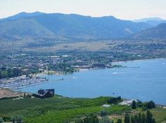 Penticton from Munson Mountain. Places To See, Places Ive Been, Area Map, Western Canada, Travelogue, Winter Scenes, British Columbia, Tourism, Vacations