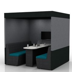 Zen 6 Person Pod provides a quiet space to either get your head down and concentrate on work or have a meeting in a quiet space. Office Pods, Open Plan, Your Space, Zen, Footprint, Acoustic, Collaboration, Room, Walls