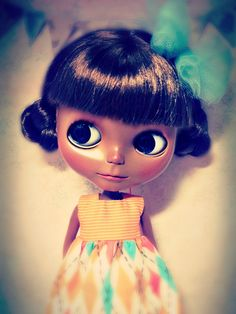 beautiful black blythe