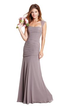 Spring 2014: Watters Iman Bridesmaid Dress | Weddington Way- this dress is beautiful and would love it in Teal!!
