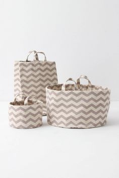 Mountain Peaks Bath Baskets- Anthropologie