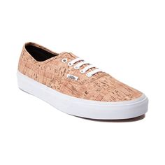 ef90abf69e Look sharp as a tack with the new Authentic Cork Skate Shoe from Vans! The