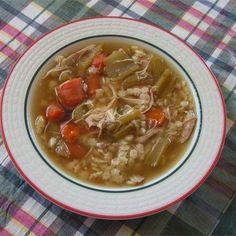 Homemade Chicken Soup @ http://allrecipes.co.uk