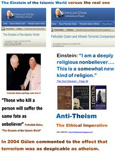 Those who kill a person will suffer the same fate as unbeliever  + Fethullah Gülen, The Einstein of the Islamic World - Deply religious nonbeliever.GIF