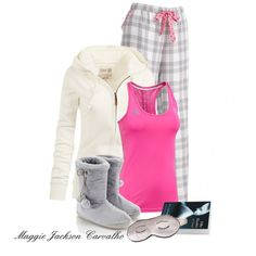 A fashion look from October 2013 featuring sleep pants, Fat Face and adidas. Browse and shop related looks. Lazy Day Outfits, Cute Comfy Outfits, Winter Outfits, Casual Outfits, Summer Outfits, Comfortable Outfits, School Outfits, Cute Pjs, Cute Pajamas