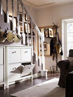 29 best ikea shoe storage images entryway ikea hemnes shoe rh pinterest com