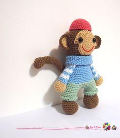 #monkey#amigurumi#crochet#knitting#doll#craft#handmade#DIY#design