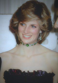 Princess of Wales in the Cambridge Emeralds
