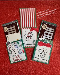 Candy Bar and Gift Card Holder – cardsbycoco (Colleen Light)—Independent Stampin' Up! Candy Crafts, Paper Crafts, Diy Crafts, Beaded Crafts, Stampin Up, Candy Bar Gifts, Christmas Gift Card Holders, Treat Holder, Treat Box