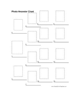 photo ancestor chart printable family tree templates free to download and print