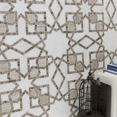 Bellatrix Smokey Ash Marble Tile