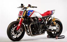 Télécharger fonds d'écran Honda CB1100TR Concept, en 2017, des vélos, des superbikes, japonais de motos, Honda