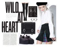 """""""School Outfit 2"""" by cooltured on Polyvore featuring moda, Morph8ne, UNIF, Tamara Mellon, Danielle Foster y Topshop"""