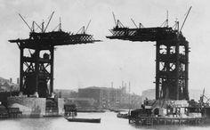 #TowerBridge under #construction #London #History #VintagePic