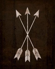 arrows - group tattoo? | Body Art | Pinterest