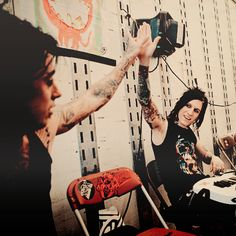 ronnie radke, jacky vincent, and falling in reverse image