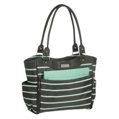 Carters JOY Zip Down Front Fashion Tote Diaper Bag - Gray. OR THIS ONE! Also @ Target!