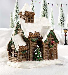 Miniature Fairy Garden Solar-Powered Holiday Cottage   Miniature Fairy Gardens