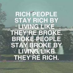 "The key to real wealth is keeping more of your money in your pocket vs. spending it on the things that merely represent wealth on the surface (e.g. big houses, expensive cars, name-brand clothing, etc.). You wouldn't recognize the average millionaire because nothing in the ""appearance"" of their life alludes to their wealth!"