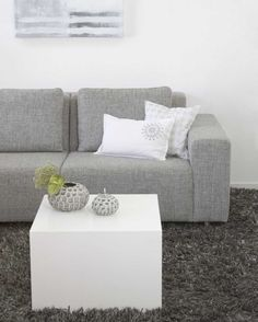 Zetel Home Living Room, Living Area, Living Spaces, Take A Seat, Love Seat, Grey Interior Design, Grey Couches, House Yard, Grey Room