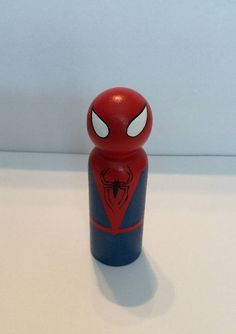 Spiderman Peg Doll Superhero 9 cm Toy/Cake Topper