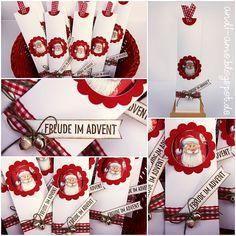 Pünktlich zu Nikolaus muss ich Euch unbedingt meine Schoko-Lolli-Verpackung zeigen! Obwohl ich (selbst als Kind) noch nie ein Schoko-Fanati...