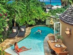 plunge pools - I like the zero entry slope. Perfect for laying out.
