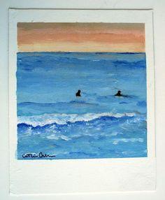 Polaroid Paintings