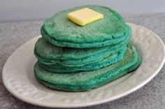 Top of the Morning Pancakes from Fun St. Patrick's Day Treats for Kids Slideshow