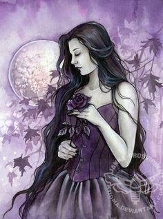 ☆ Tale of a Rose :¦: By Artist Janna Prosvirina ☆