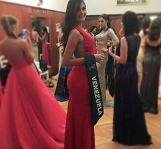 Miss Venezuela Tierra. Andrea Rosales, durante su participación el Miss Earth 2015 en Austria..